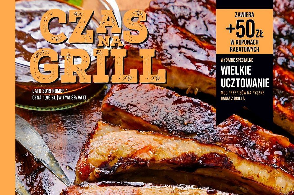 'Czas na grill', nowy magazyn Biedronki