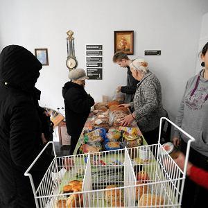 Jadłodzielnia w Szczecinie tuż przed świętami Bożego Narodzenia