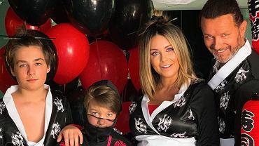 Małgorzata Rozenek urządziła synowi urodziny: Radzio odegrał scenę z