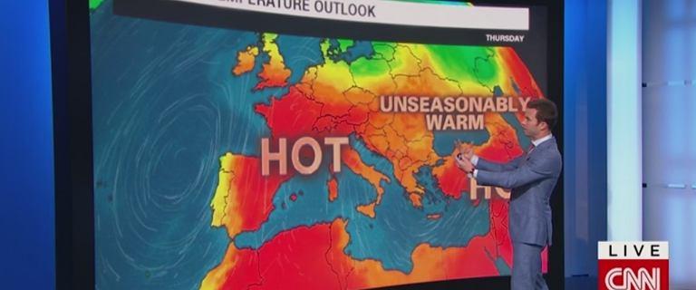 Fala upałów w Europie. Zewsząd ostrzeżenia.
