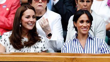 Księżna Kate i Meghan Markle pokłóciły się o. rajstopy. Kolejne przyczyny sporu wychodzą na jaw