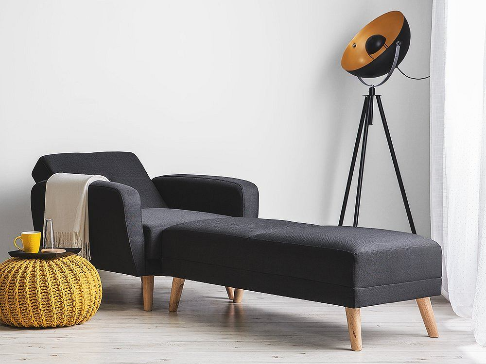 Fotel rozkładany jako szezlong