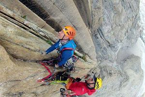 Polska droga na Great Trango Tower