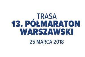 Znamy trasę 13. edycji Półmaratonu Warszawskiego!