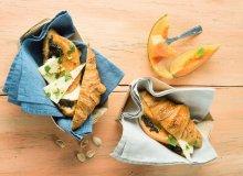 Croissanty z melonem i serem Tomme de Savoie - ugotuj