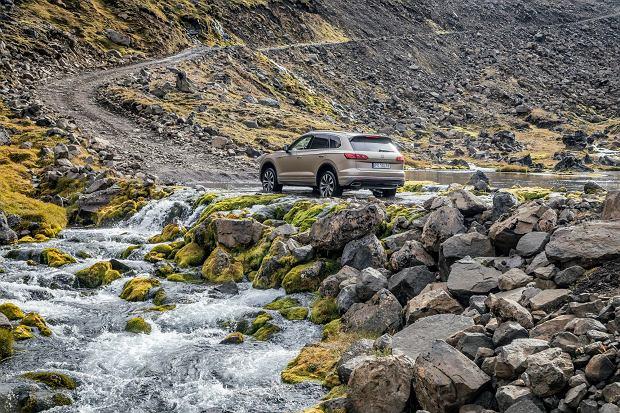 Nowy Volkswagen Touareg na Islandii