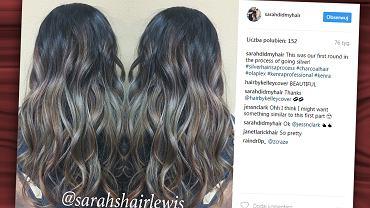 Charcoal hair