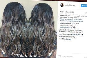 W końcu niebanalna koloryzacja dla brunetek! Tę fryzurę nazywają... czarna tęcza [ZDJĘCIA]
