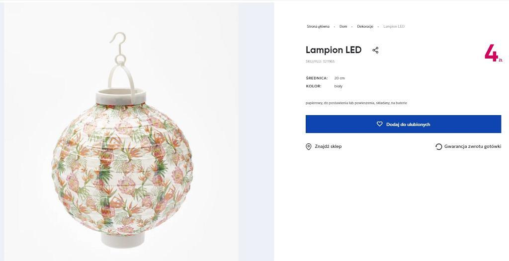 Lampion Pepco