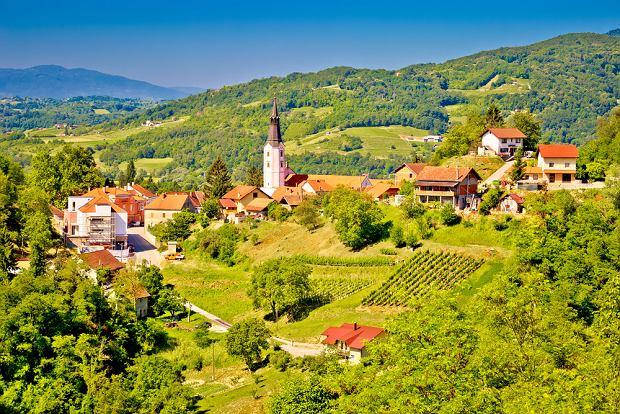 Klanjec to nieduże miasto położone w regionie Zagorje
