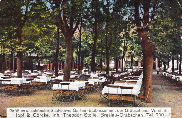 Zdjęcie numer 34 w galerii - Ogródki restauracyjne pierwsze tej wiosny i te przedwojenne [ARCHIWALNE ZDJĘCIA]