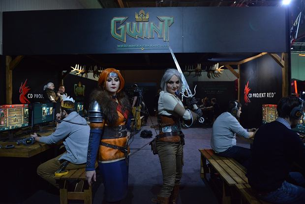 Cosplayerzy na T-Mobile Warsaw Games Week 2016