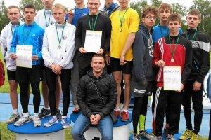 Dziewięć medali Startu Szczecin na mistrzostwach Polski