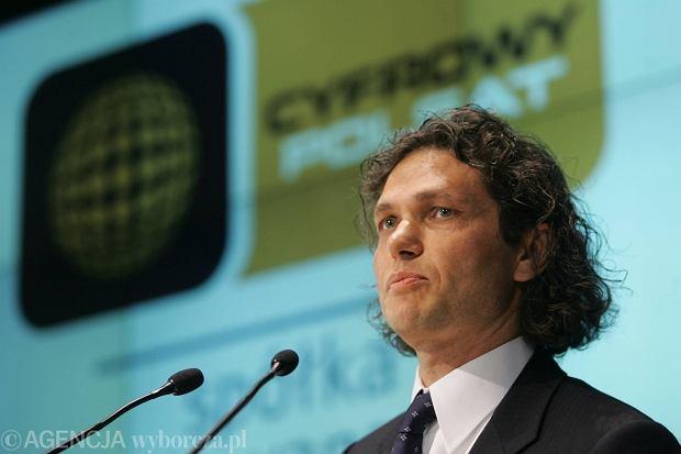 Dominik Libicki, były prezes Cyfrowego Polsatu