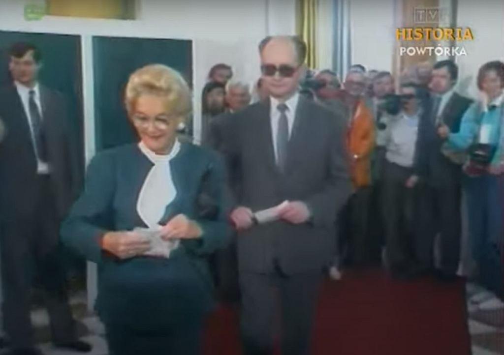 Barbara i Wojciech Jaruzelscy