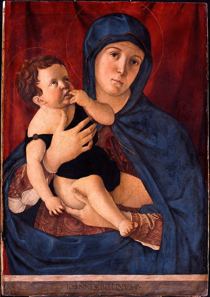 Madonna and Child,Giovanni Bellini / Londyn, National Gallery