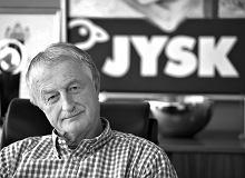 Lars Larsen nie żyje. Założyciel sieci handlowej JYSK miał 71 lat