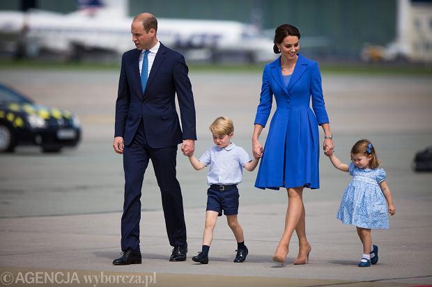 Książę William i księżna Kate z dziećmi