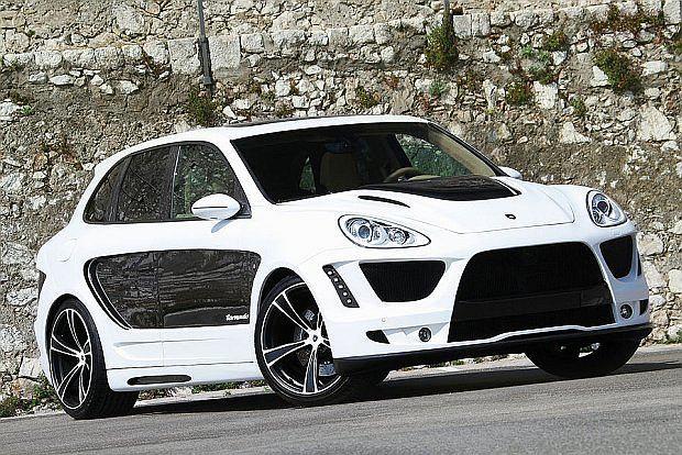 Na stoisku Gemballi obaejrzeć będzie można również model Tornado bazujący na Porsche Cayenne z 22 calowymi kołami
