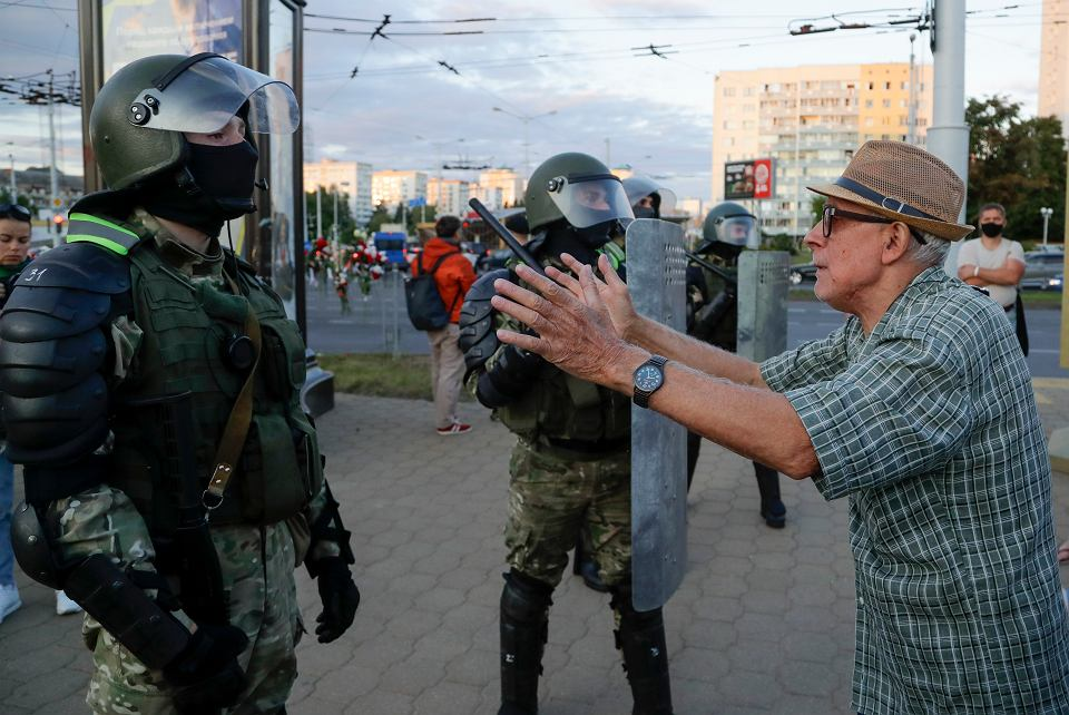 Protesty w Mińsku, 11 sierpnia 2020 r.