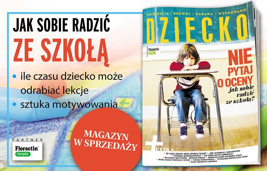 Wrześniowe wydanie magazynu 'Dziecko'