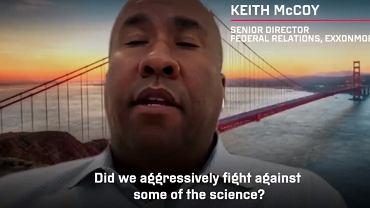 Keith McCoy, lobbysta pracujący dla ExxonMobil
