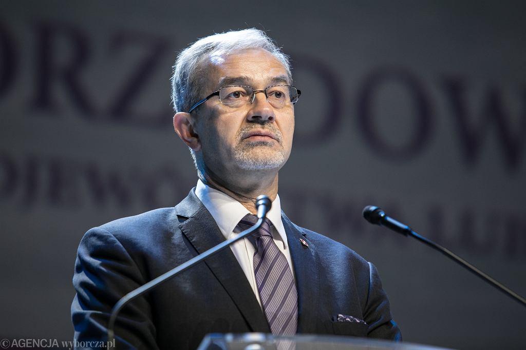 Minister Jerzy Kwieciński
