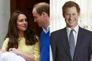 Księżna Kate, książę William, książę Harry