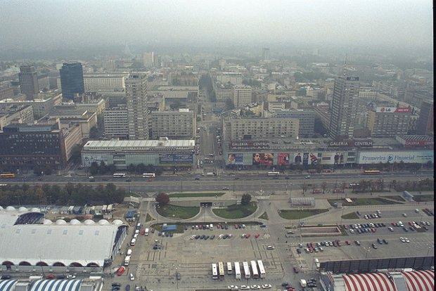 Cenrtum Warszawy w 2001 roku/ Fot. CC BY 2.0/ Henri Sivonen/ Flickr.com