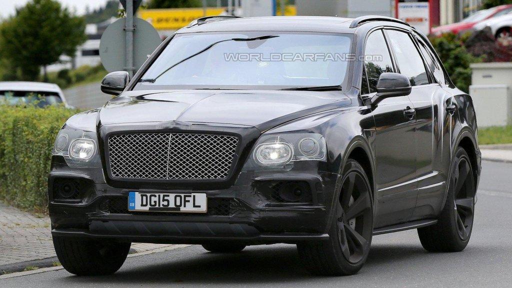 Bentley Bentayga Speed (prototyp)