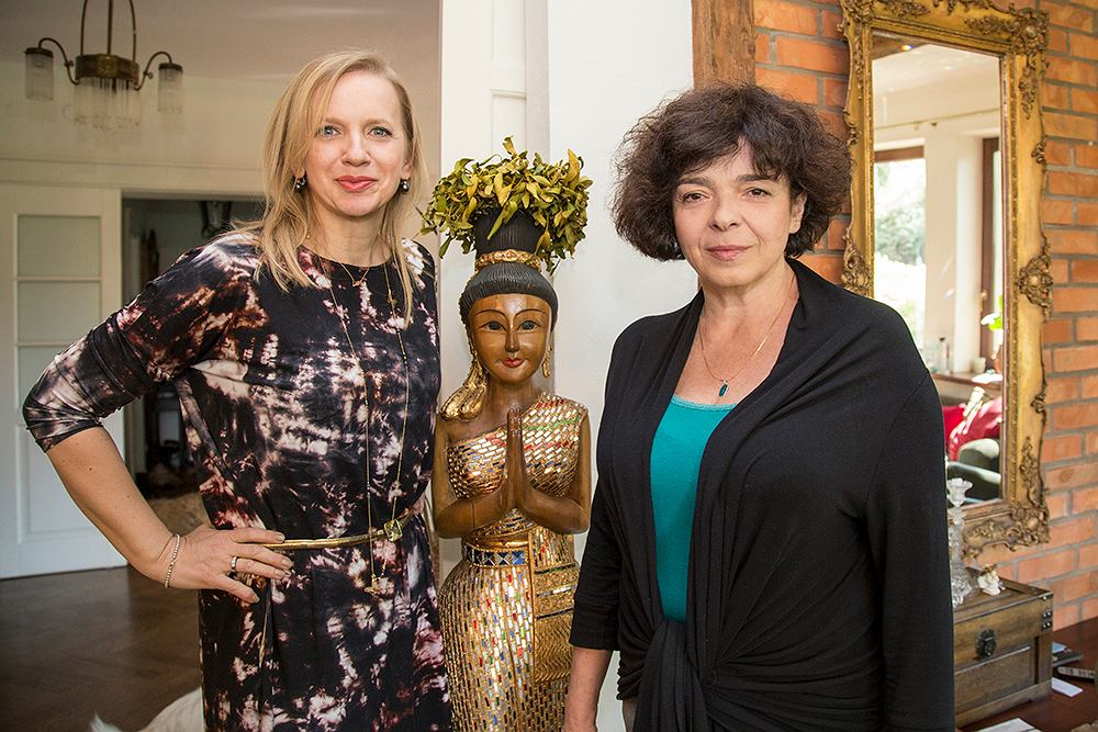 Marzena Rogalska i Katarzyna Grochola