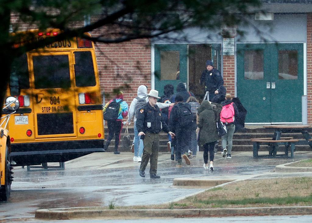 Strzelanina w szkole w Maryland