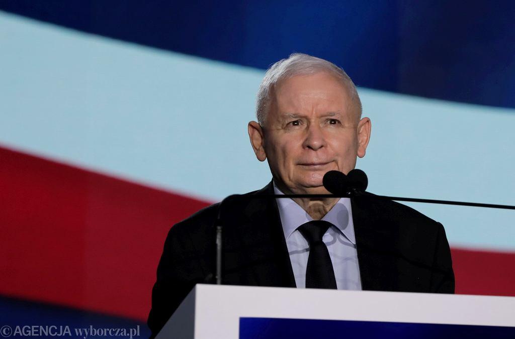 Wicepremier, prezes Prawa i Sprawiedliwości Jarosław Kaczyński