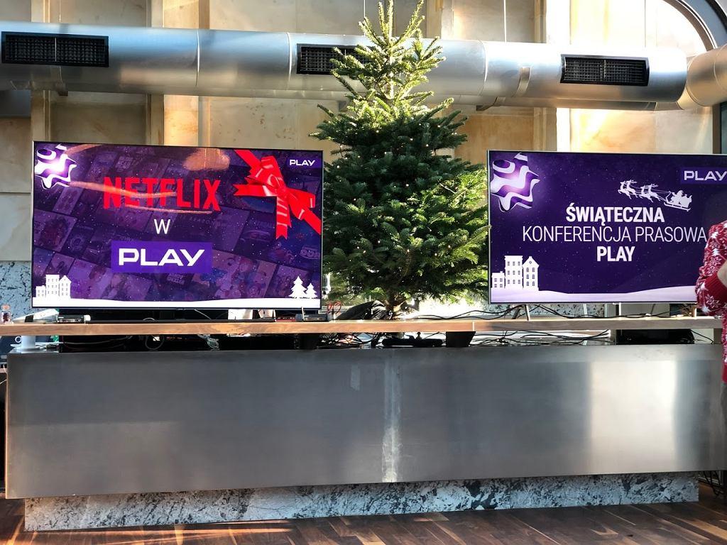 Netflix i Play