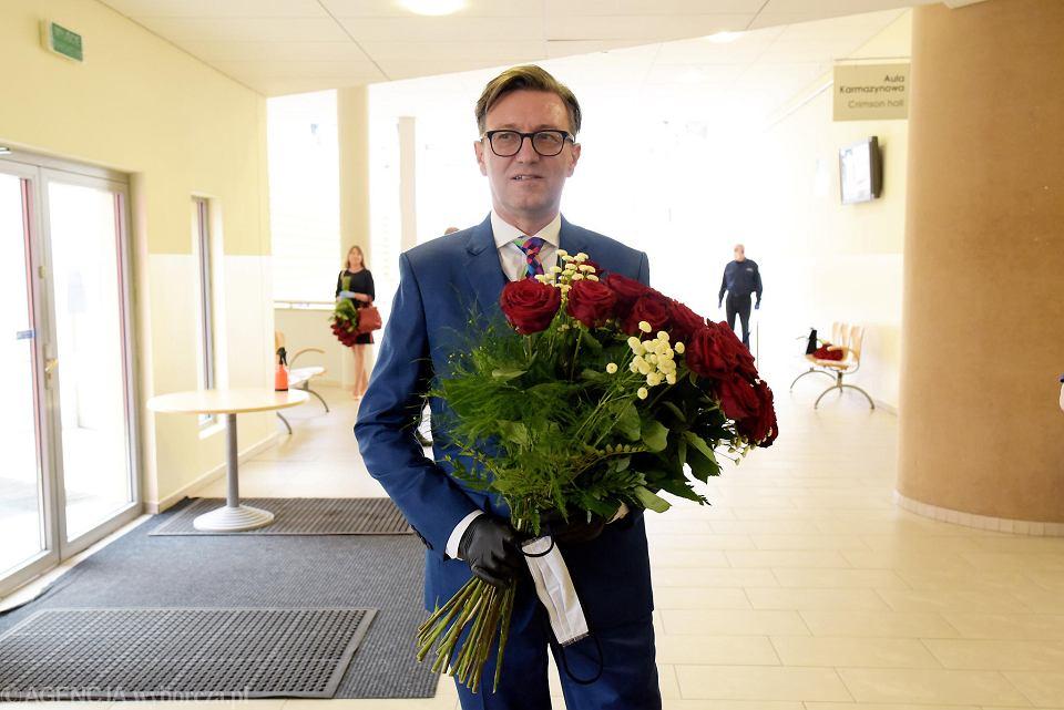 Prof. Jerzy Przyborowski, rektor UWM w Olsztynie