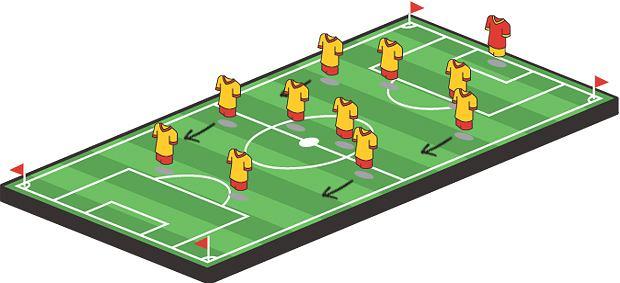 Sport: zostań futbolowym ekspertem,sport, piłka nożna, 4-4-2