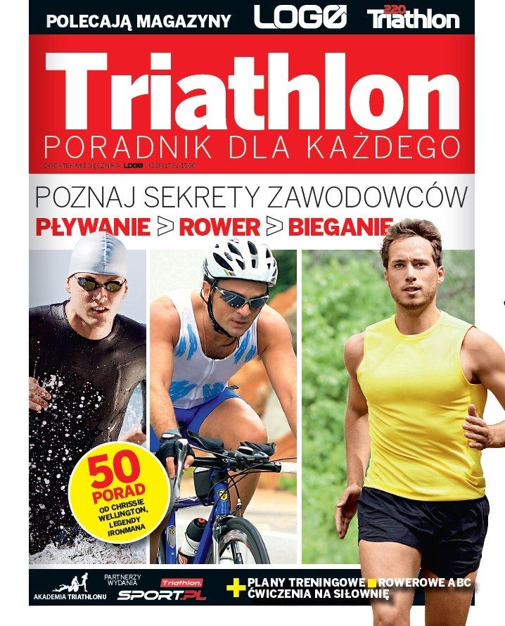 Okładka dodatku LOGO Triathlon