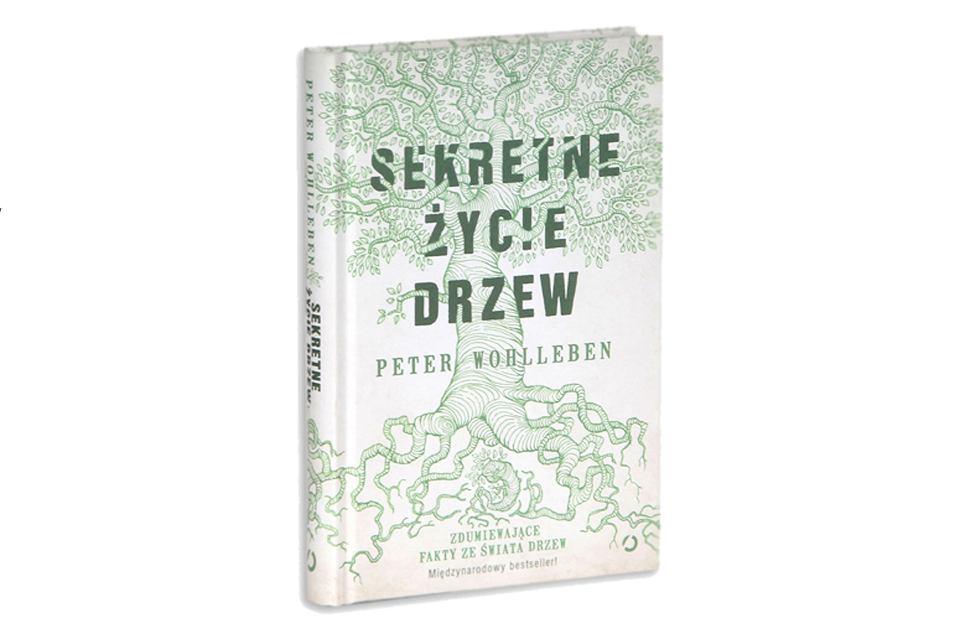 Okładka 'Sekretnego życia drzew' Petera Wohllebena