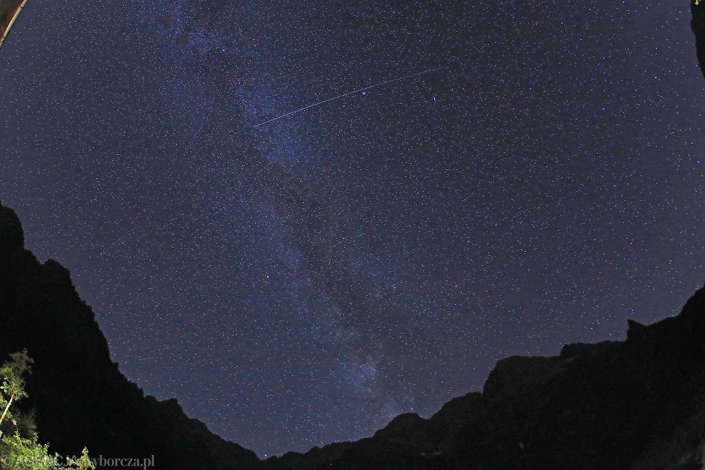 Noc spadających gwiazd 2021. Jak i kiedy obserwować Perseidy? [PORADNIK], Tatry, 2020