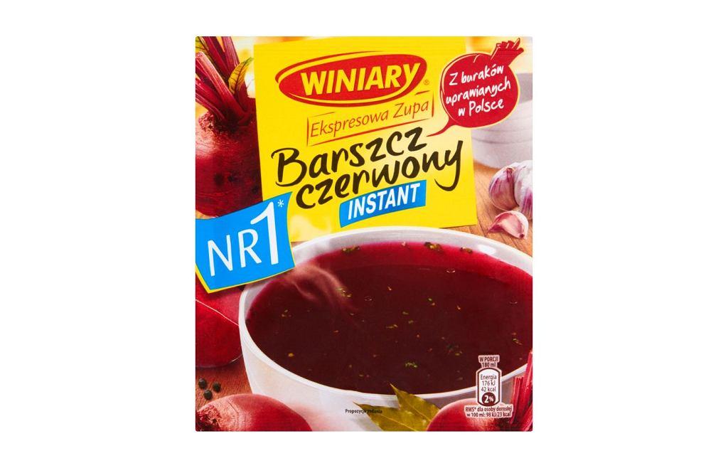 Barszcz czerwony Ekspresowa Zupa WINIARY