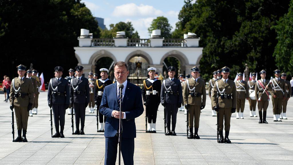 Mariusz Kamiński zaprasza na uroczystości w dniu Wojska Polskiego