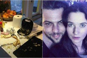 Oglądając uważnie profil na Instagramie Karoliny Malinowskiej można zobaczyć, jak modelka urządziła się razem z Olivieriem Janiakiem. Bodaj najsłynniejsze zdjęcie ich mieszkania to to, na którym widzimy ubrudzoną kuchnię. Na profilu modelki znalazło się jednak o wiele więcej zdjęć.