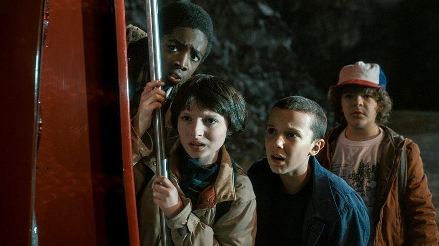 Kadr z serialu 'Stranger Things'