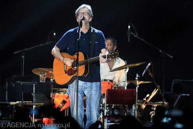 07.06.2013 Lodz , Atlas Arena , koncert Eric Clapton   Fot. Marcin Wojciechowski / Agencja Gazeta  SLOWA KLUCZOWE: /FR/