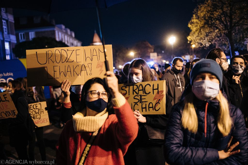 Środa 28.10: Plan protestów w kraju i za granicą
