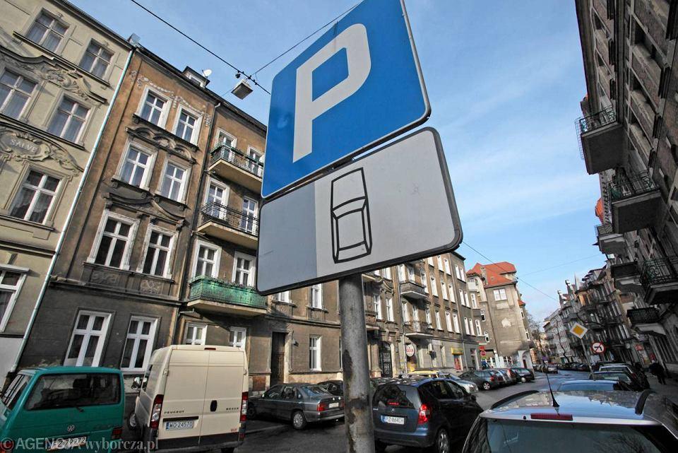 Strefa parkowania w Poznaniu