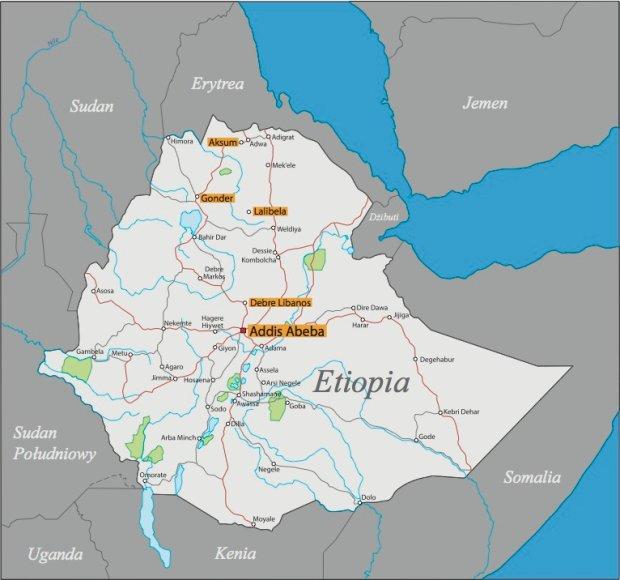 Randki etiopsko-amerykańskie