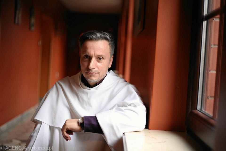 Dominikanin ojciec Maciej Biskup