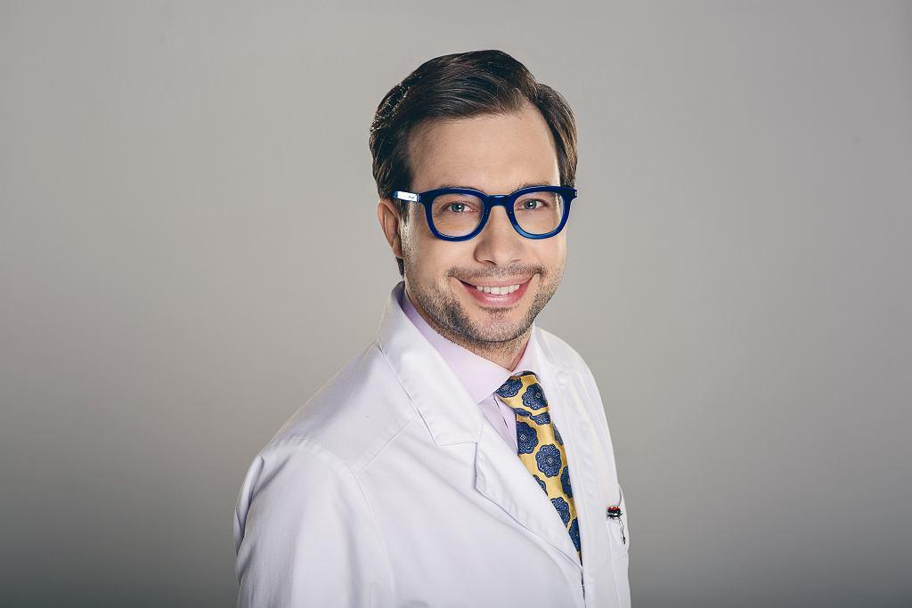 dr Franciszek Strzałkowski, lekarz medycyny estetycznej, anestezjolog, założyciel warszawskiej Kliniki Strzałkowski