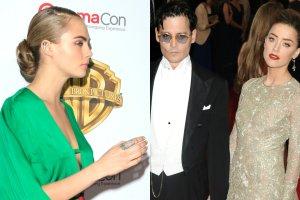 Cara Delevigne, Johnny Depp, Amber Heard